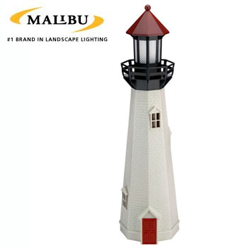 Ediscount dropship | NATURAL ACCENT OUTDOOR LIGHTHOUSE